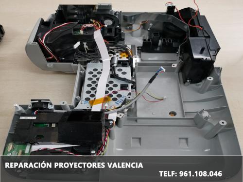 Reparación de proyectores Valencia