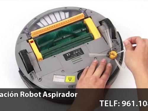 Reparación de robots aspirador Valencia